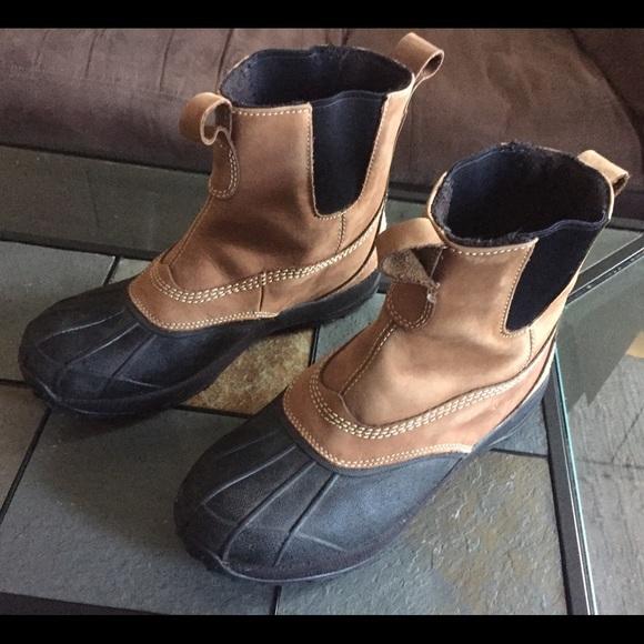 85c07dc24f7 L.L. Bean Chelsea Boot 9.5 Tumbled Leather